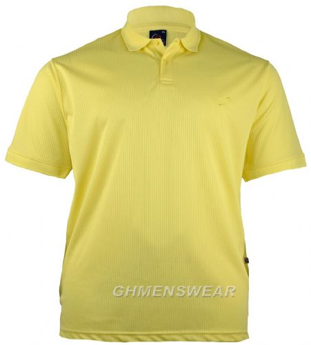 Mesh Polo Shirt YELLOW